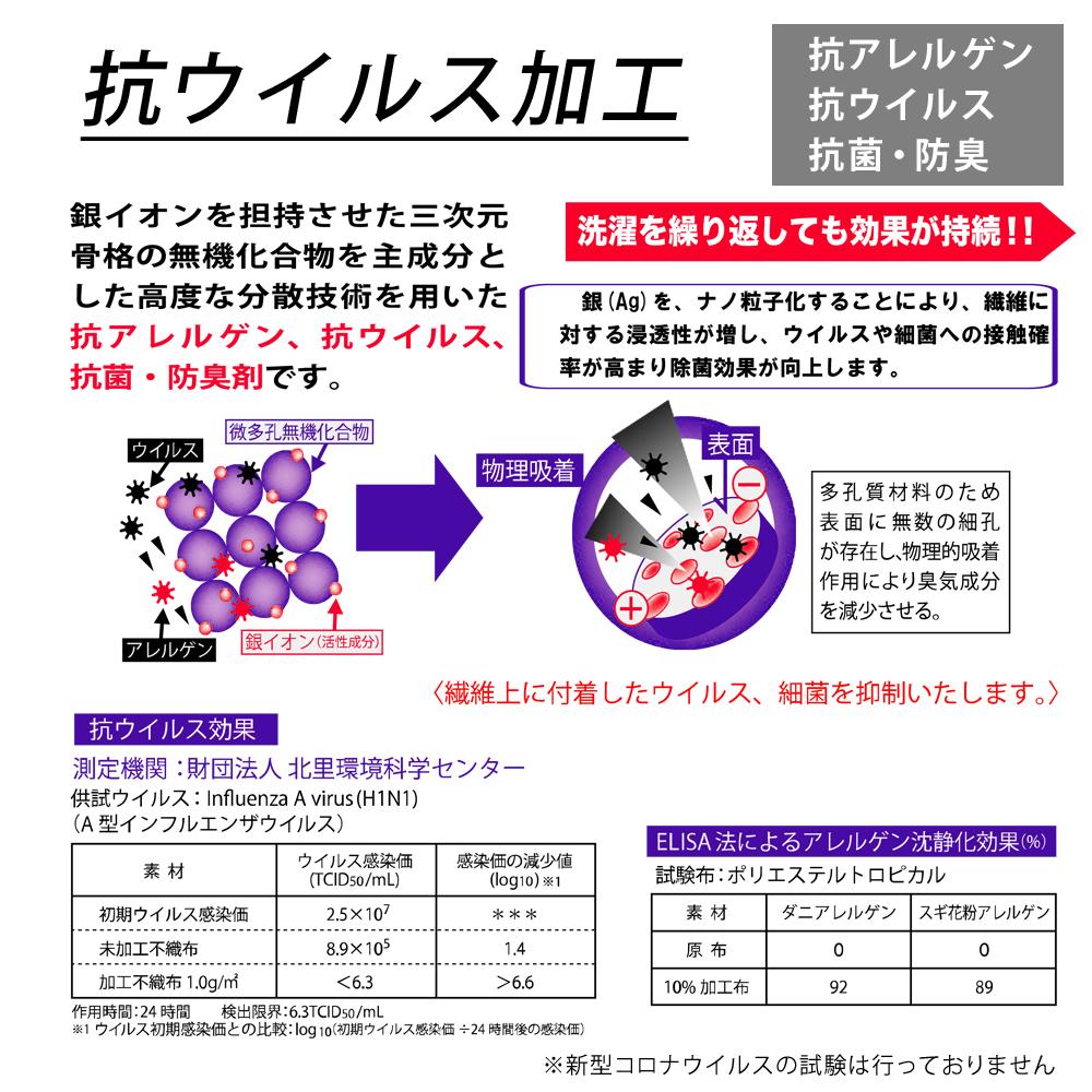 大阪泉州産 抗ウイルス加工 二重ガーゼフェイスタオル 日本製 抗ウイルス加工