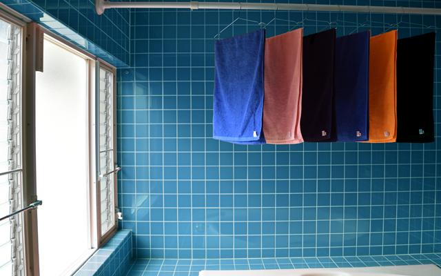 今治タオル 浴室乾燥
