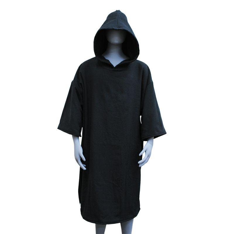 サーフポンチョ 着替えポンチョ サーフィンポンチョ 黒